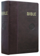 La Bible — Traduction Œcuménique (notes essentielles, similicuir bordeaux, tranche or)